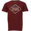 Zimtstern TSM Moutz T-Shirt Men Maroon